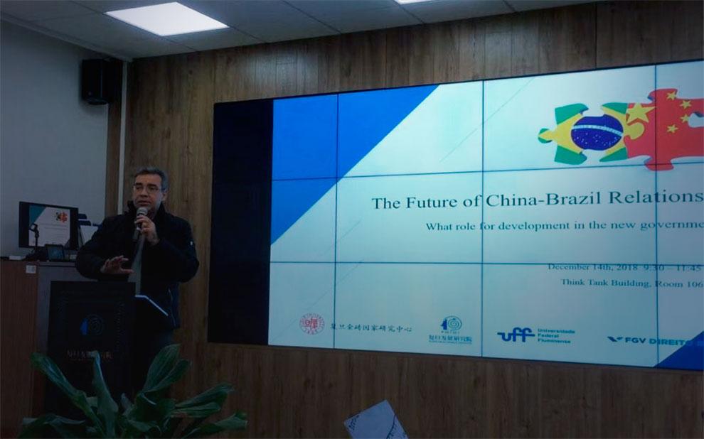 Evento internacional debate futuro das relações entre Brasil e China