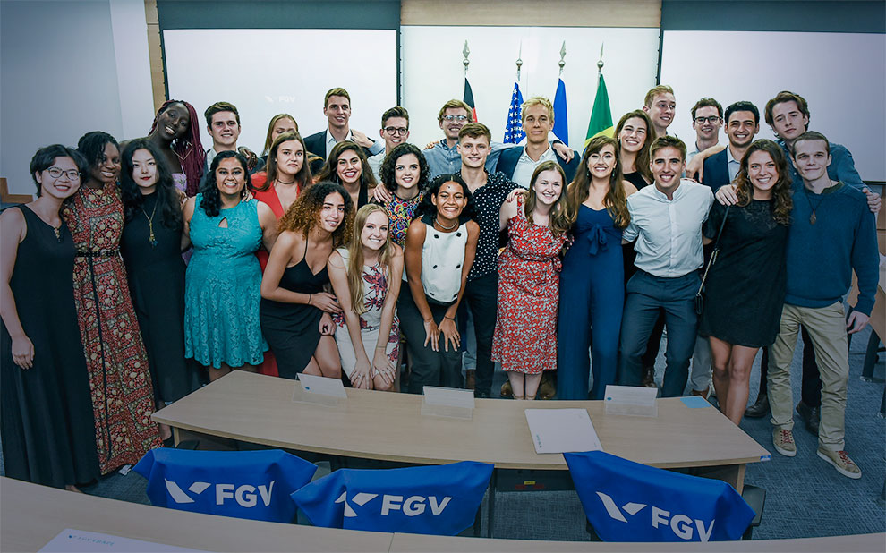 FGV EBAPE holds closing ceremony for International Business Education Alliance