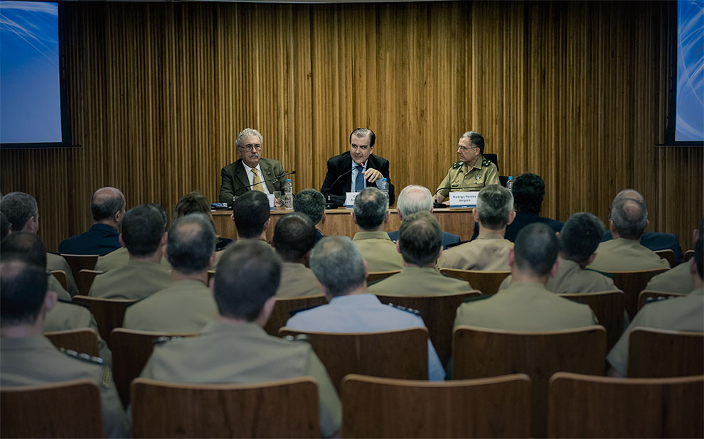 FGV e ECEME realizam a abertura da 21ª edição do MBA Executivo de Política, Estratégia e Alta Administração do Exército