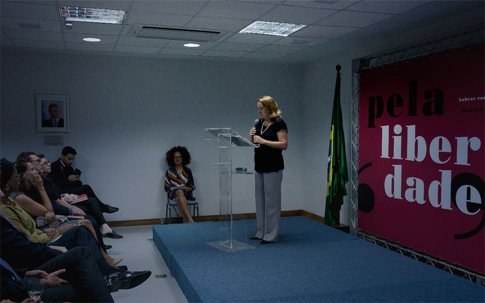 Event in Brasilia marks release of book on Collective Habeas for arrested mothers