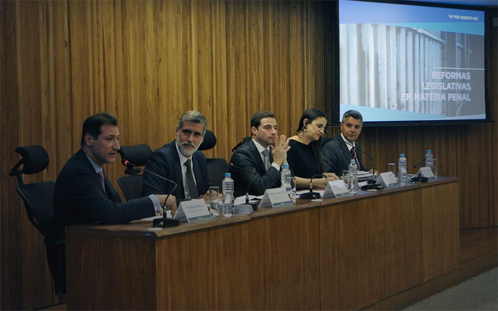 Reformas nas leis penais brasileiras são debatidas em seminário