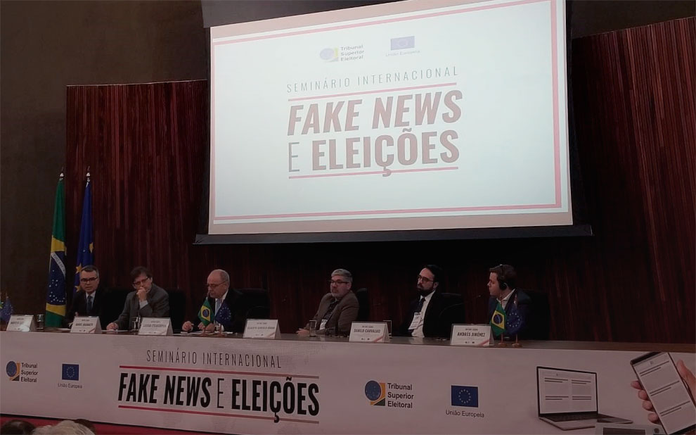 With an eye on the 2020 elections, TSE brings together experts to discuss Fake News in Brasilia
