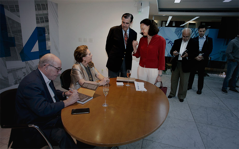 Editora FGV lança biografia de Sergio F. Quintella