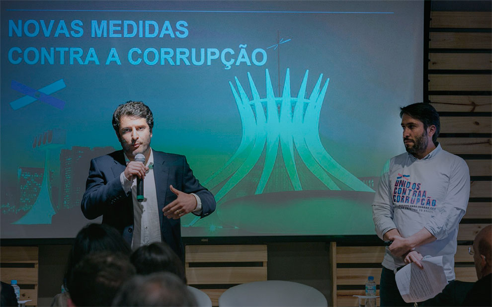 Anti-corruption package launched by Transparency International and FGV Law Schools