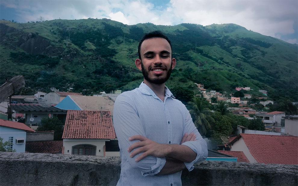 Da Vila Vintém para NY: Conheça a trajetória do aluno da FGV Direito Rio que vai estudar um semestre nos EUA