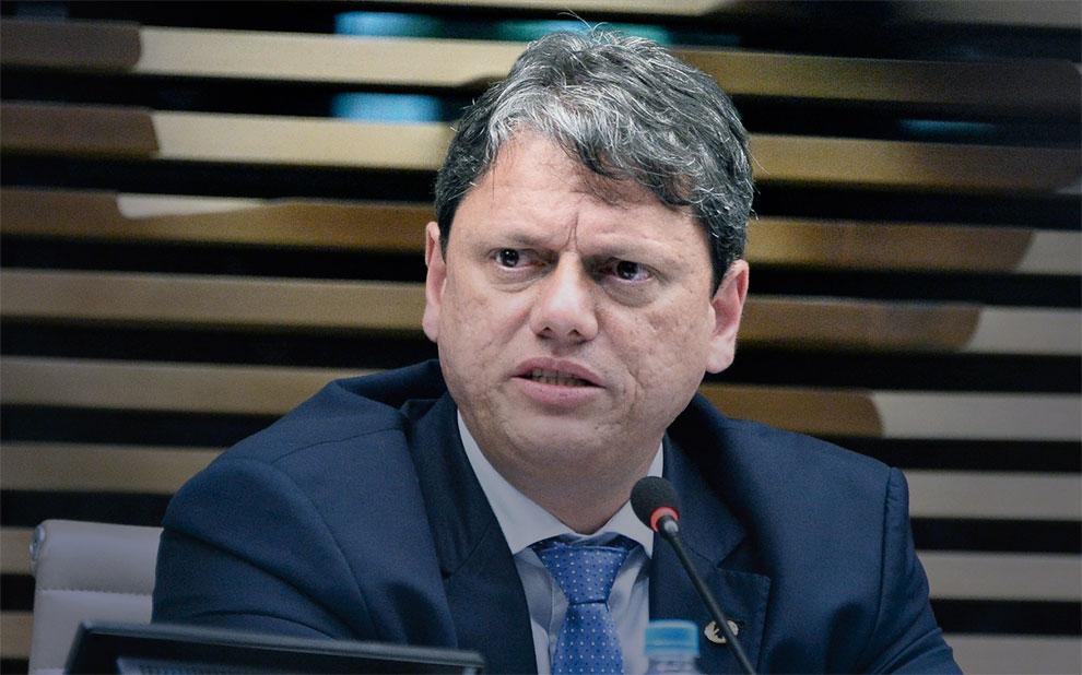 Ministro Tarcísio Freitas fala sobre desafios da infraestrutura brasileira de transportes