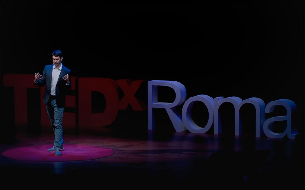 Net neutrality and self-determination are discussed at TEDx Rome