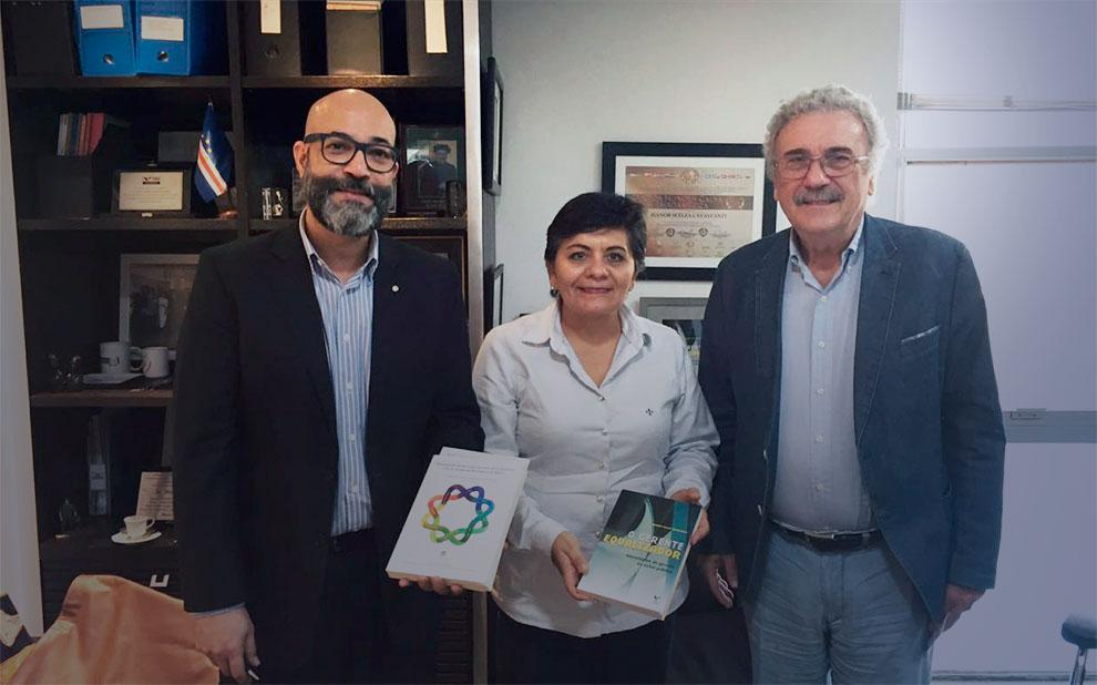 Consulesa-geral do México debate governança e políticas públicas em visita à FGV