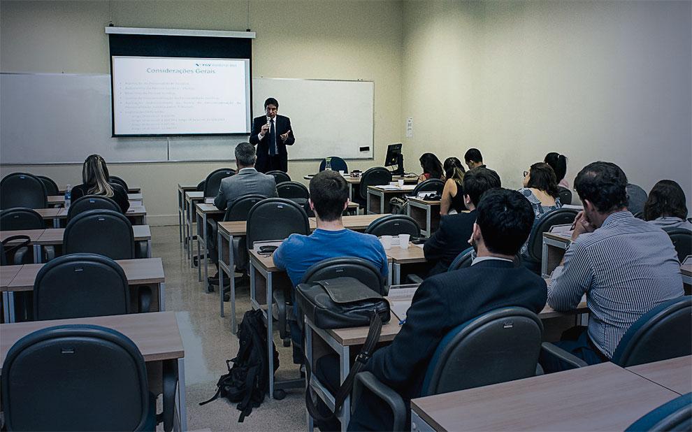 Aula aberta fala sobre startups, venture capital e private equity