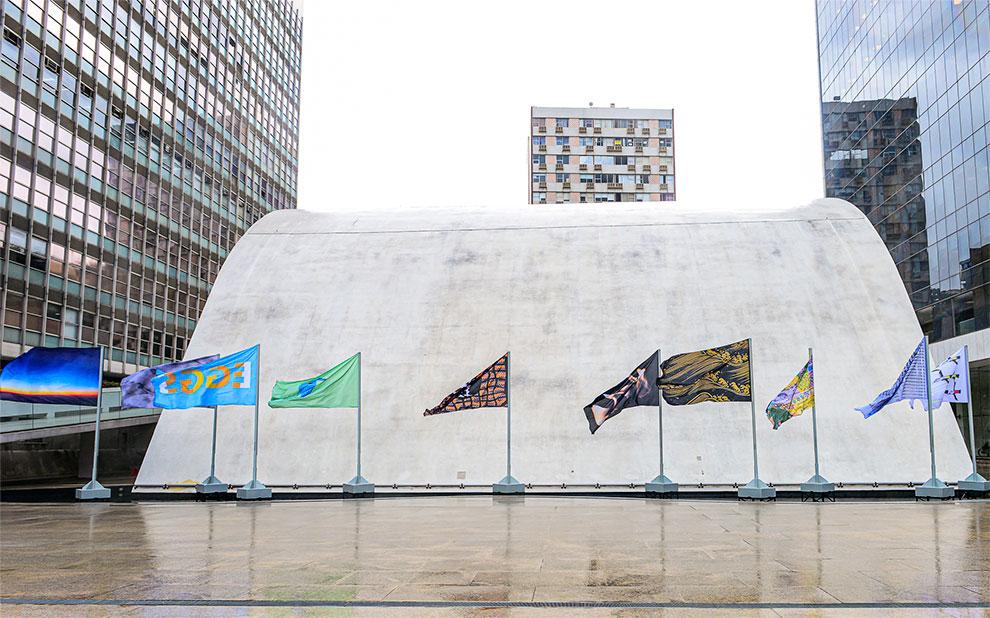 Com exposição 'Draw Me a Flag', FGV integra roteiro da Bienalsur