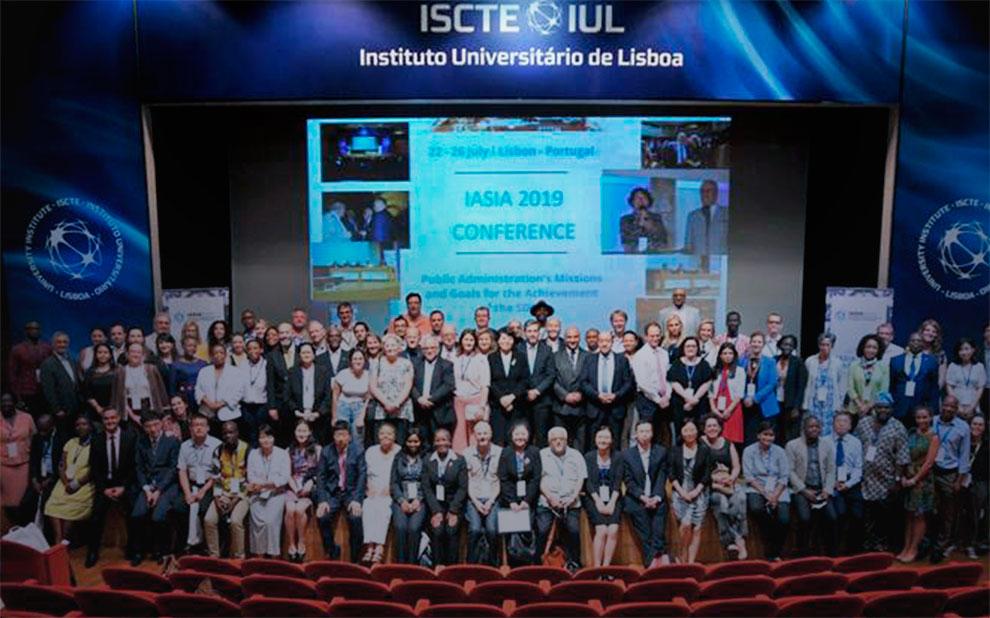 Conferência em Lisboa marca fim do mandato do professor Bianor Cavalcanti como presidente da IASIA