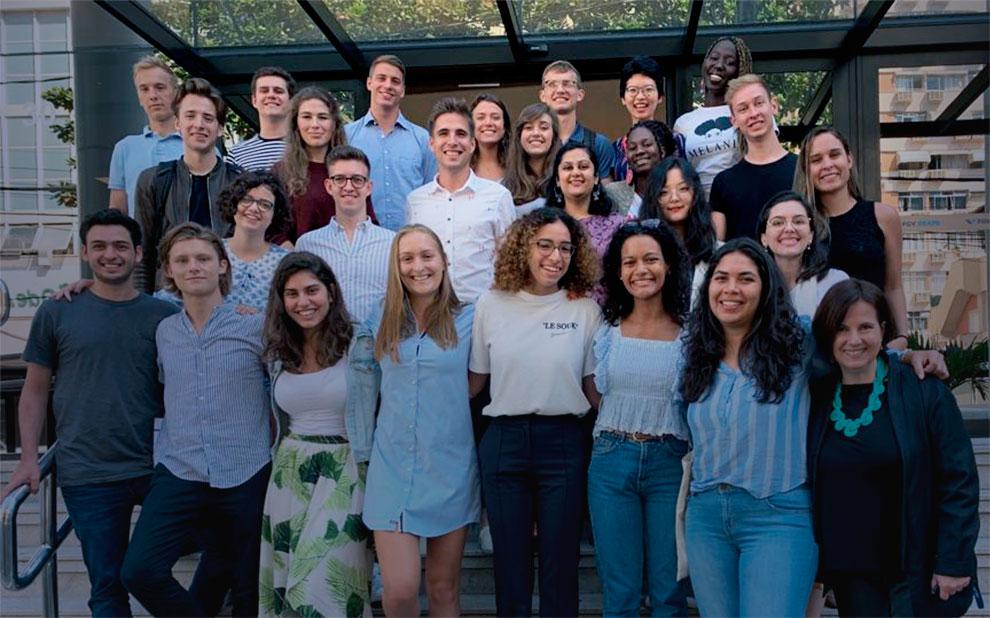 Alunos da International Business Education Alliance vêm à FGV para último semestre de curso global