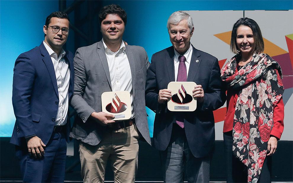 Startup que nasceu durante aulas na FGV EAESP é vencedora do prêmio Empreenda Santander 2019