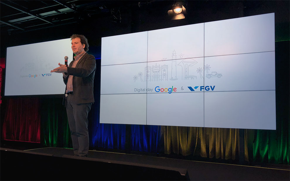 Event brings together executives from FGV and Google to discuss marketing and education