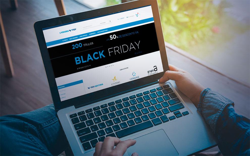 Livraria FGV inaugura novo site e promove ação especial nesta Black Friday