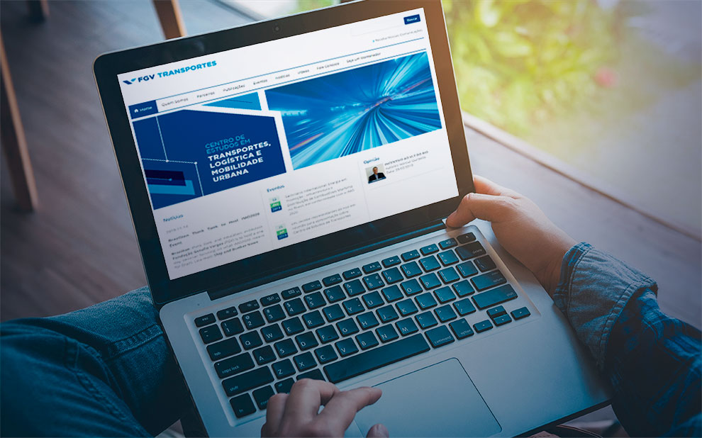FGV Center for Transport Studies launches institutional website