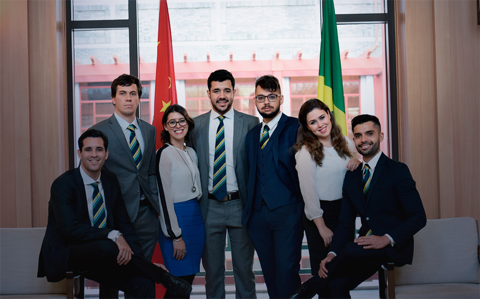 FGV students participate in founding of BRASA Asia