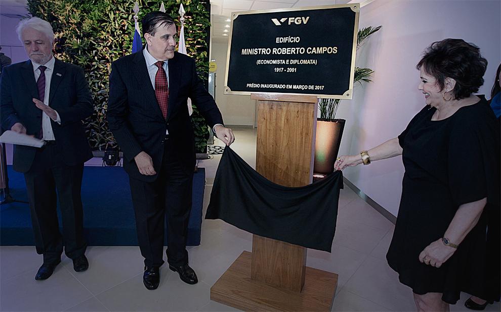 Retrospectiva 2017: Com homenagem a Roberto Campos, FGV inaugura nova sede da EBAPE