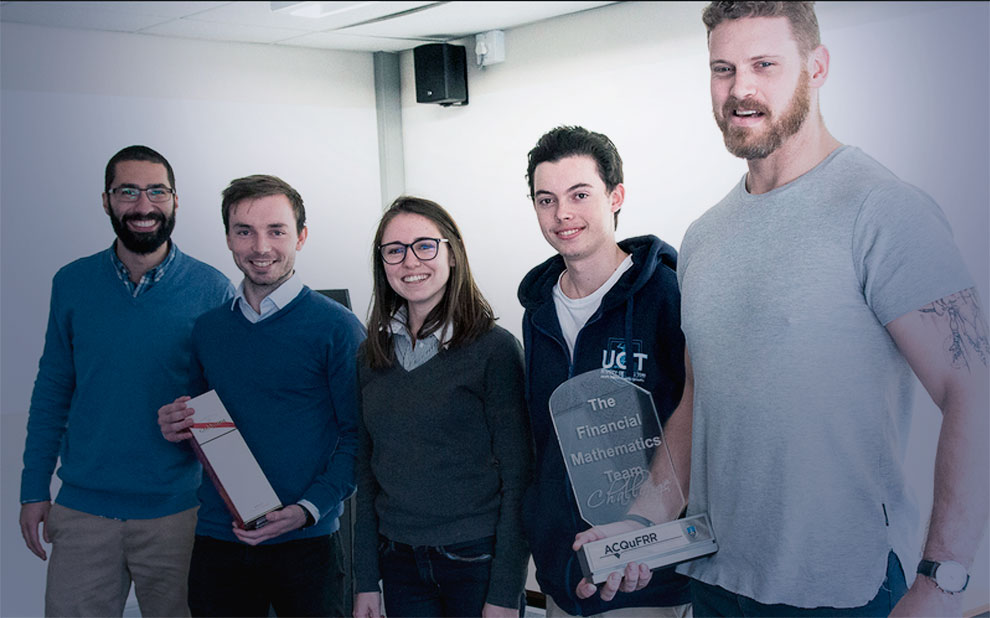 Team led by Applied Mathematics professor wins international quantitative finance competition