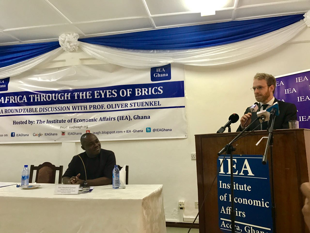 Growing role of BRICS is discussed at event in Ghana