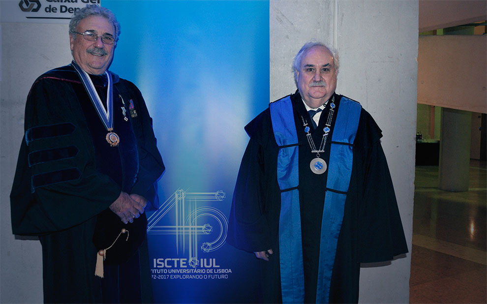 FGV attends ISCTE-IUL's 45th anniversary celebration in Lisbon