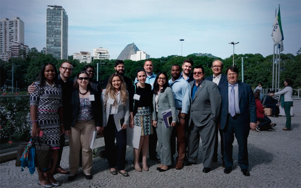Rutgers Business School students attend international module at FGV