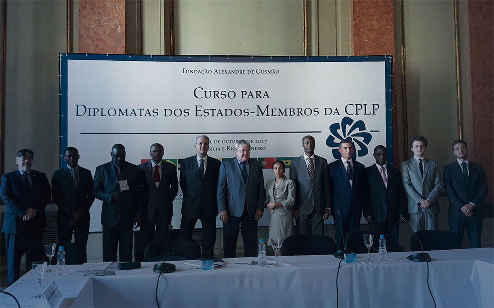 Diplomats from Community of Portuguese Language Countries participate in training course