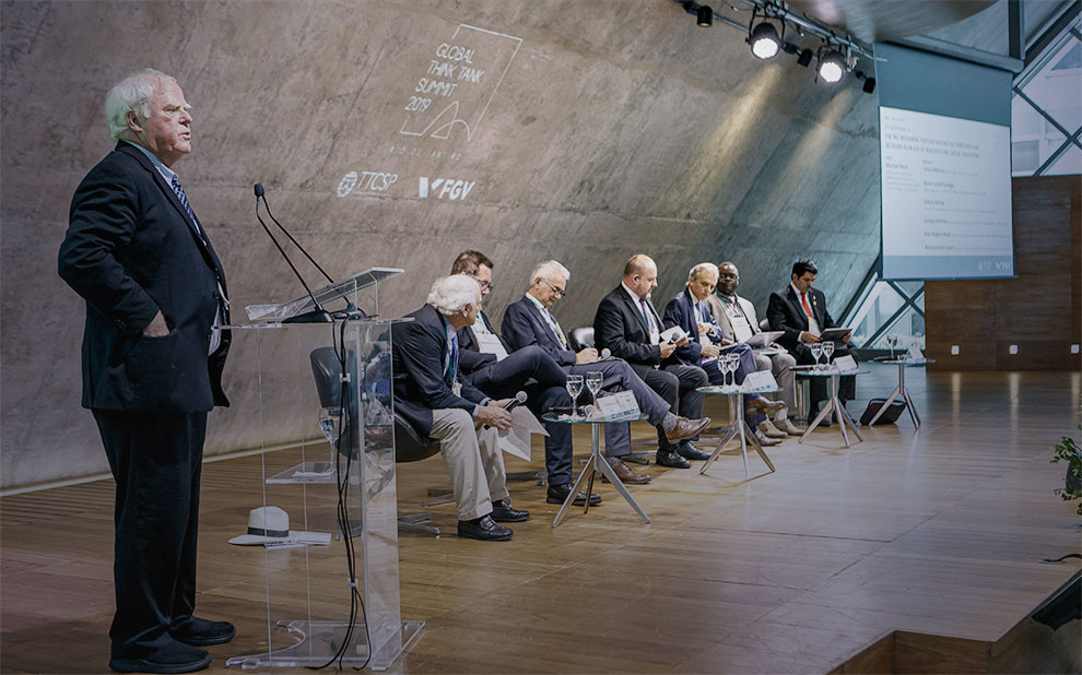 FGV hosts leading global think tanks
