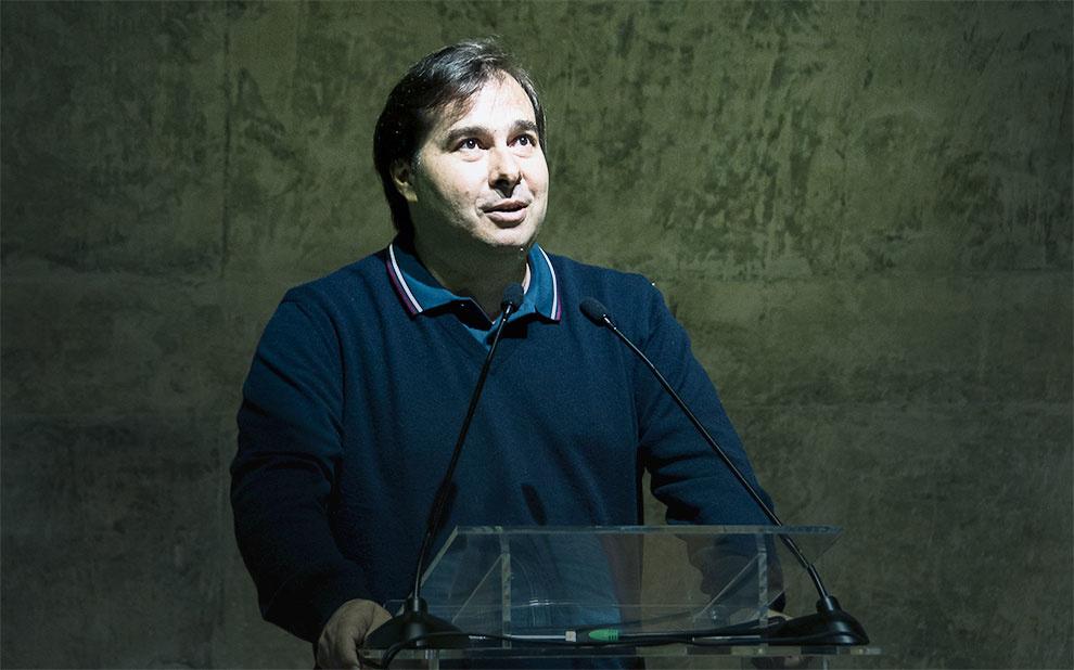 Rodrigo Maia debate agenda do Congresso e aprovação de reformas