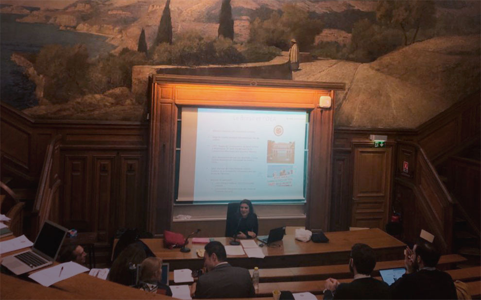 Jean Monnet Chair coordinator teaches classes at Sorbonne Law School