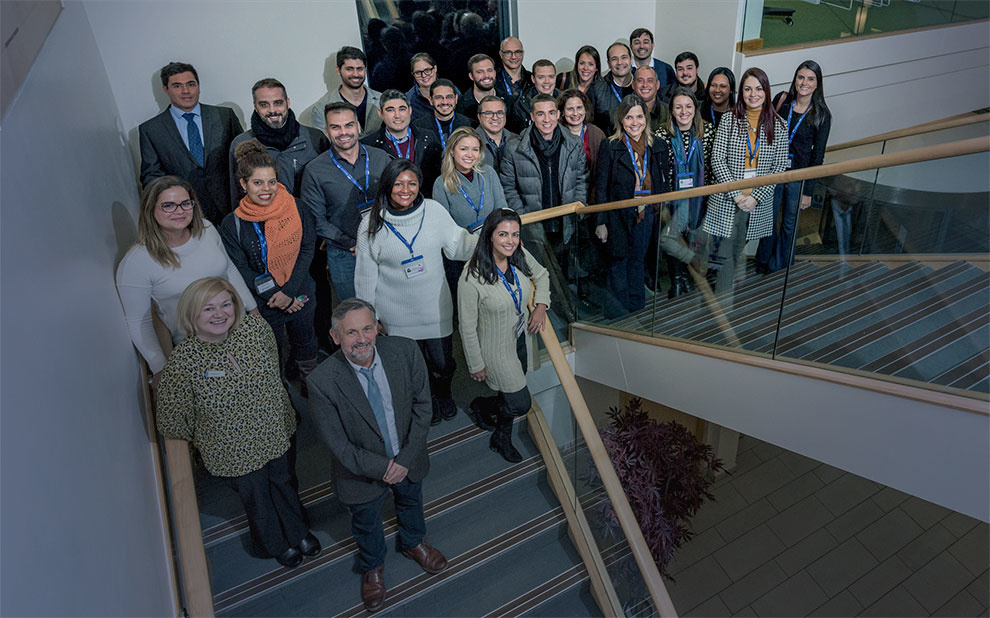 FGV's professional master's students participate in international module in the UK