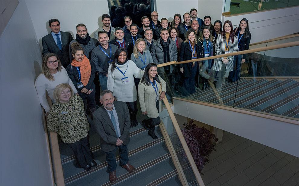 Alunos dos mestrados profissionais da EBAPE participam de módulo internacional no Reino Unido