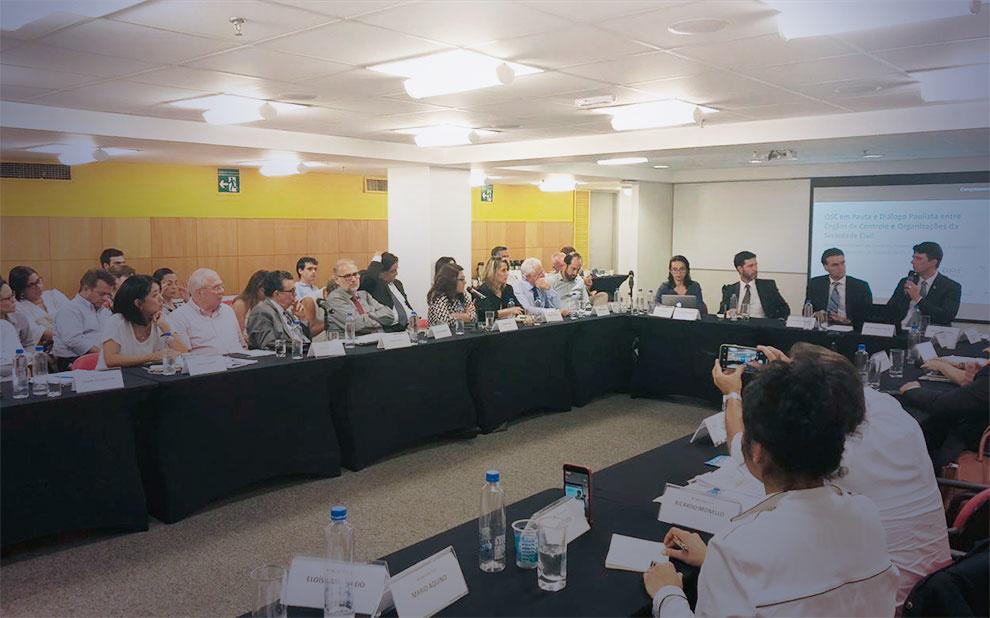 Papel do governo nas relações entre órgãos de controle e sociedade civil é tema do 16º. Diálogo Paulista