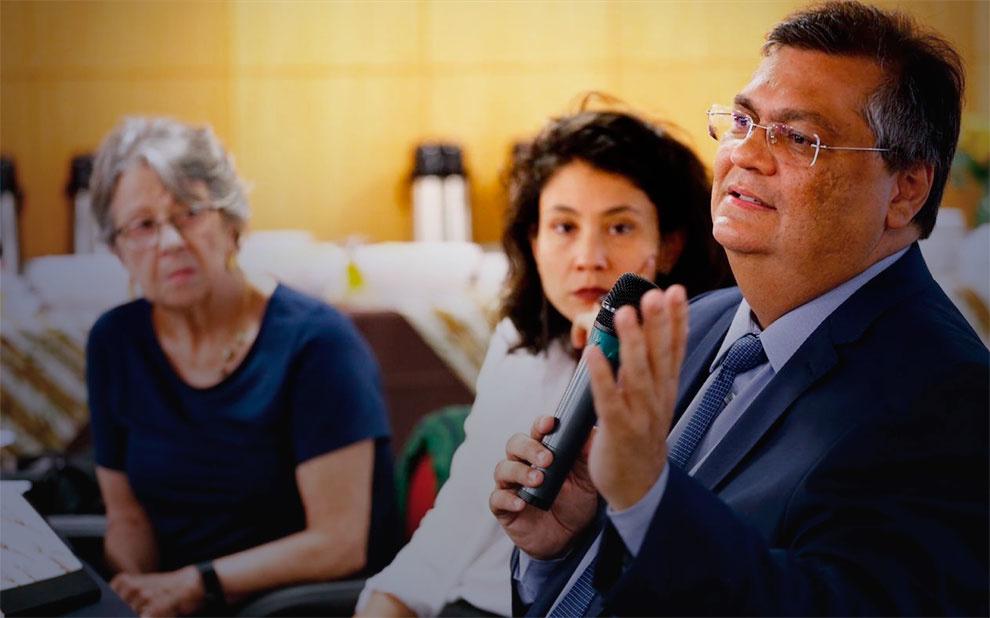 Governador do Maranhão, Flávio Dino profere palestra sobre desafios das instituições na FGV Direito SP