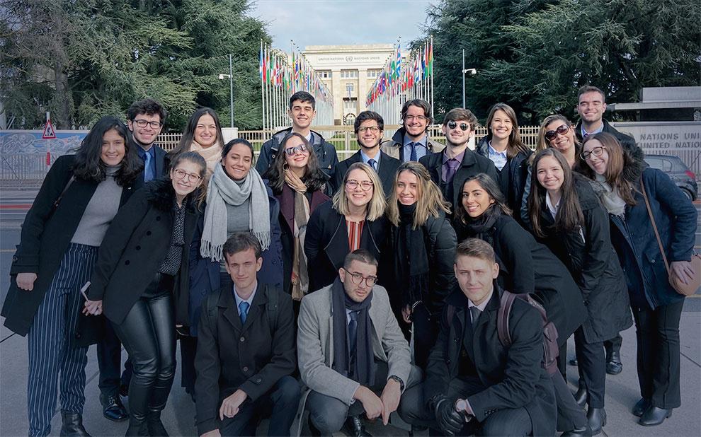 Imersão leva alunos de relações internacionais para organizações em Genebra e Viena