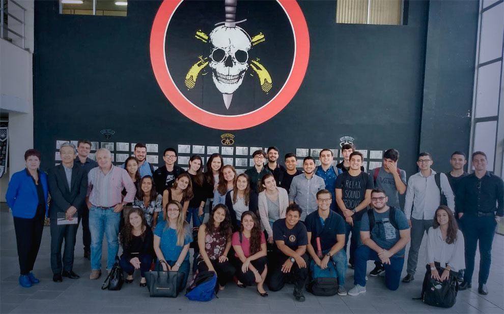Administration students visit PMERJ's Special Operations Battalion