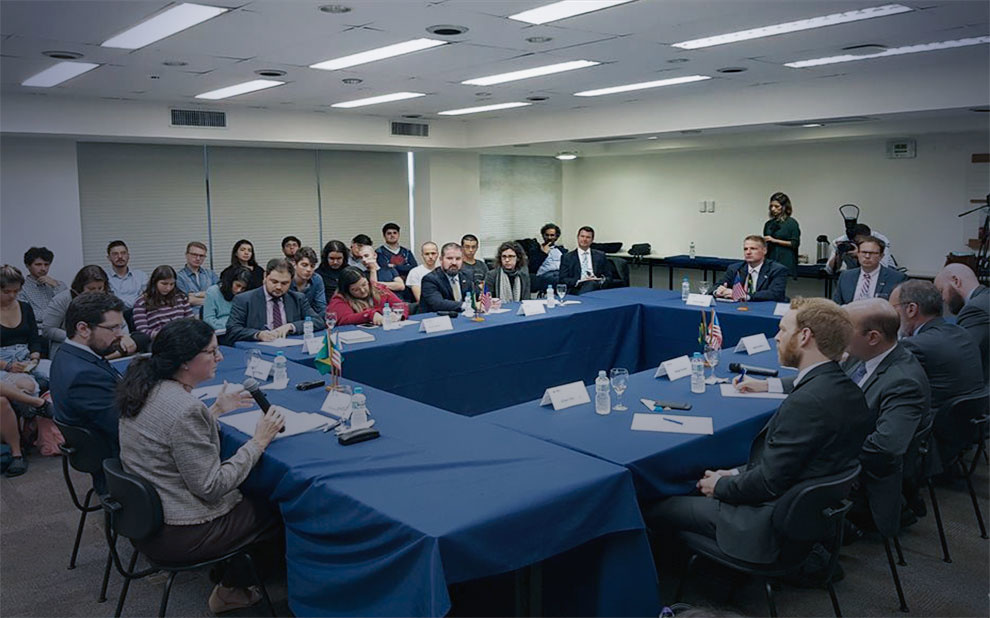 U.S. Assistant Secretary for Western Hemisphere Affairs participates in debate at FGV
