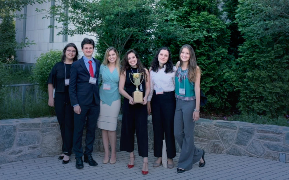FGV Direito SP wins first place in Human Rights Competition in Washington, D.C.
