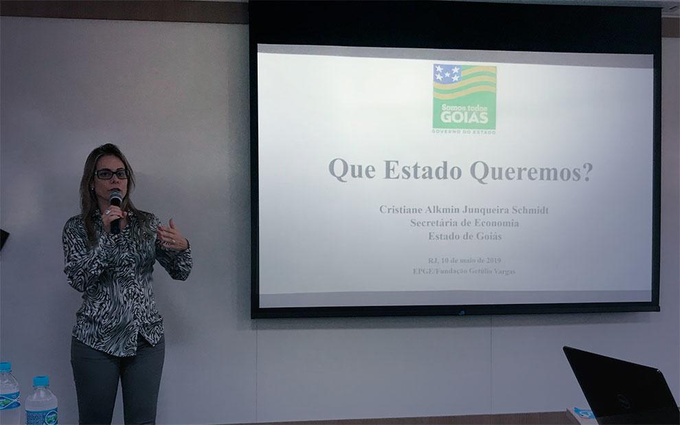 Secretária de Economia de Goiás fala sobre importância das reformas para o Brasil voltar a crescer