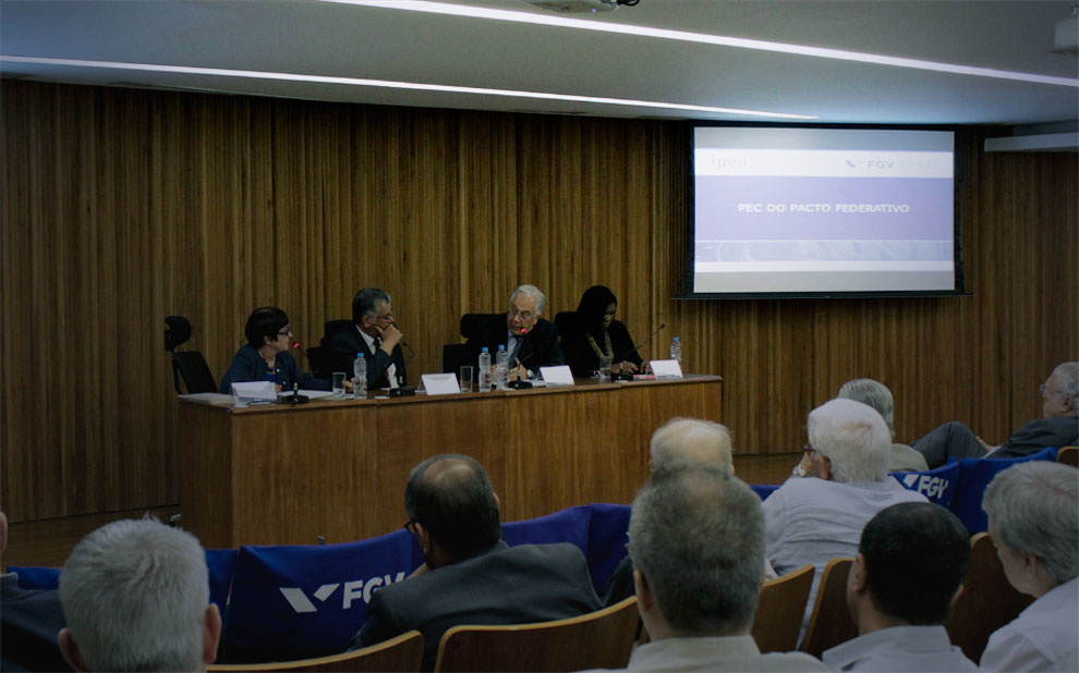 PEC of the Federative Pact is a topic of debate at FGV