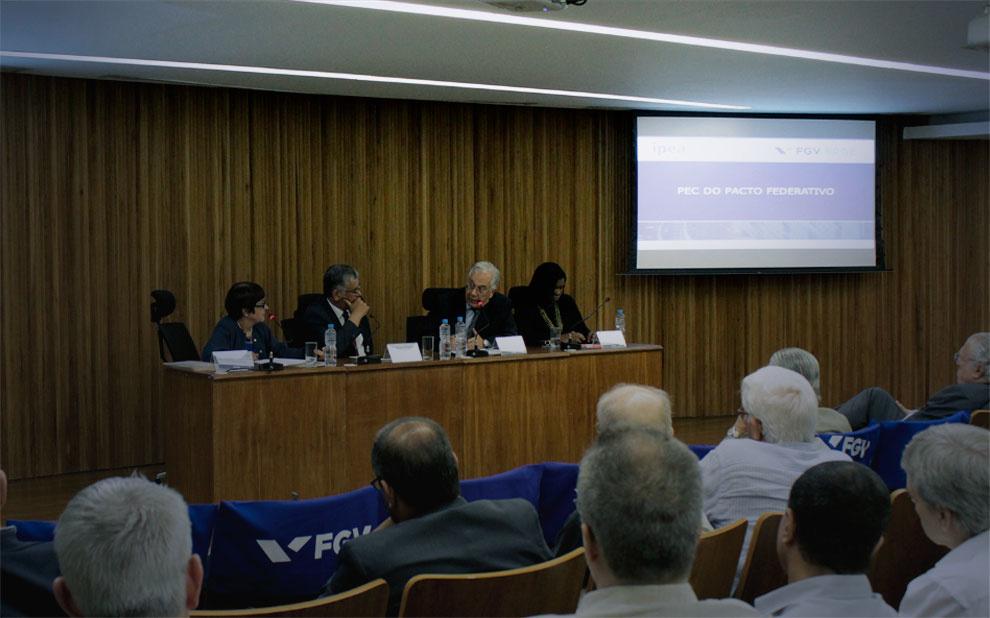 PEC do Pacto Federativo é tema de debate na FGV