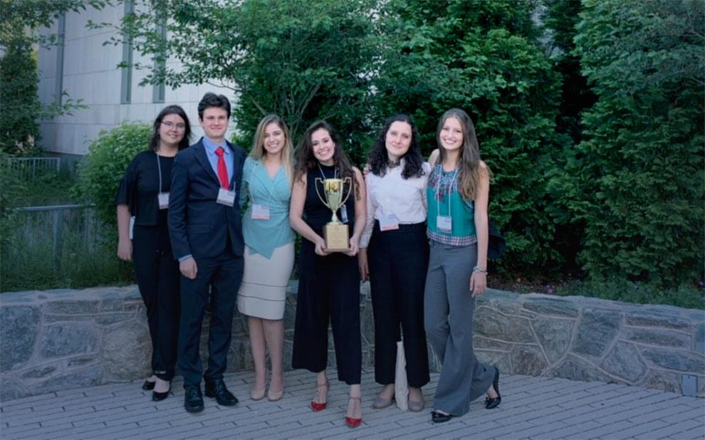 FGV Direito SP conquista primeiro lugar em Competição de Direitos Humanos em Washington