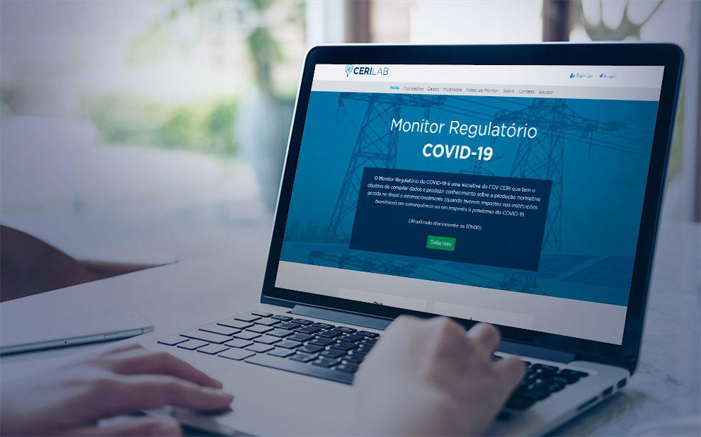 Monitor Regulatório do COVID-19: Portal reúne produção normativa e intelectual sobre regulação em resposta à pandemia