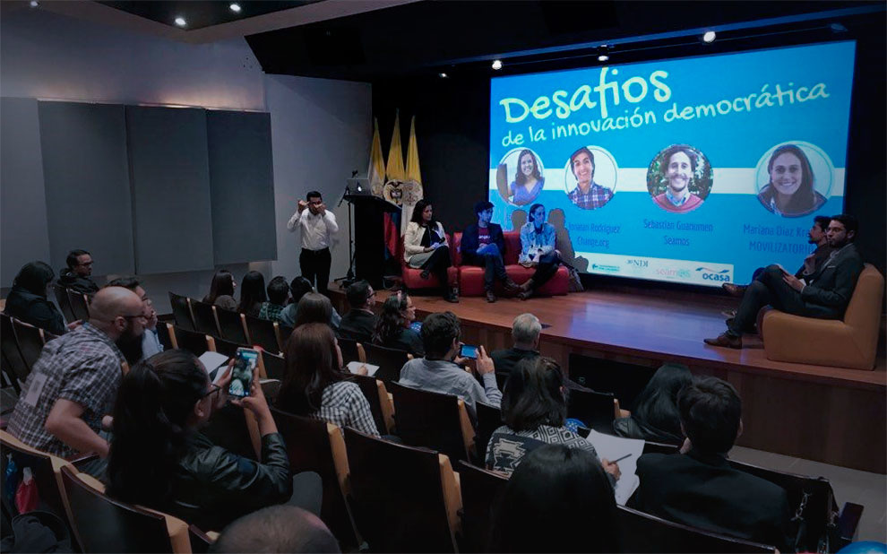 Study on robots presented during international forum in Colombia