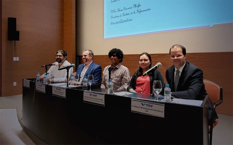 FGV and IDB hold 1st Regional Meeting of the Big Data Project for Sustainable Urban Development