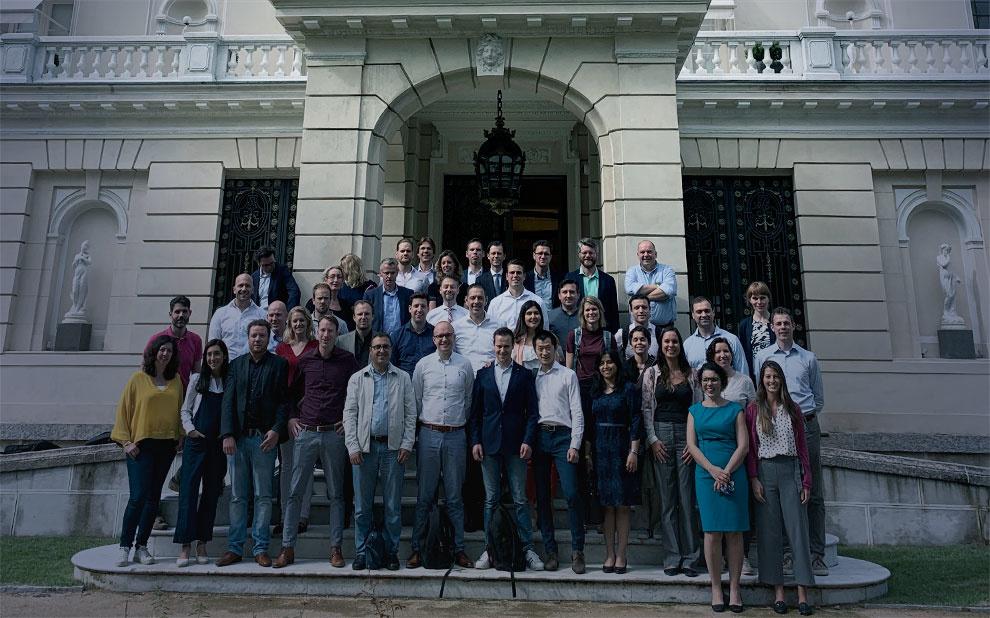 Grupo de alunos de universidade holandesa participa de módulo internacional na FGV