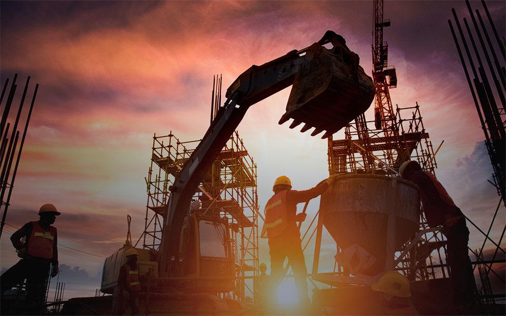 Confiança da Construção avança em julho