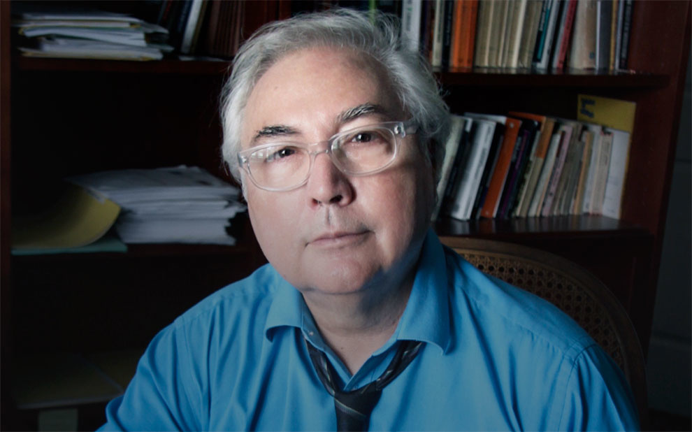 Sociologist Manuel Castells attends seminar on Communication, Politics and Democracy