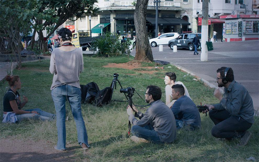 Oficina prepara jovens estudantes para produção de documentários com baixo orçamento