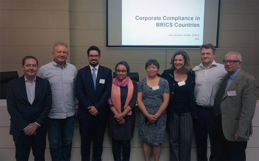 Pesquisa que compara mecanismos de compliance dos BRICS conquista prêmio LSGL Seed Fund